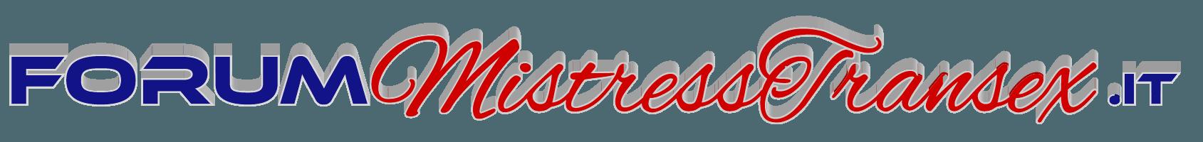 Logo del Forum di recensioni mistress transex